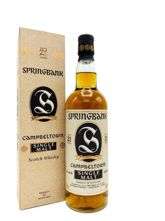 Sjatoo Springebank 21 Y Old Label
