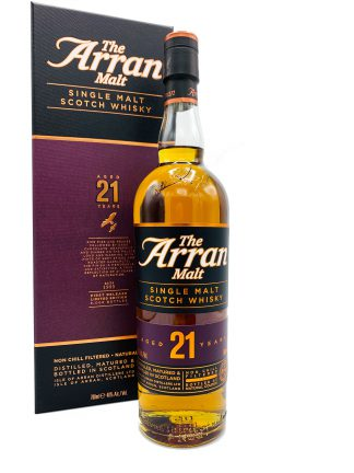 Arran 21 Y first release limited edition