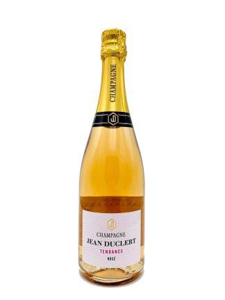 Champagne Jean Duclert Rosé Brut Tendance